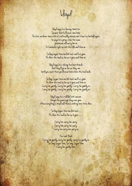 lloyd lyrics